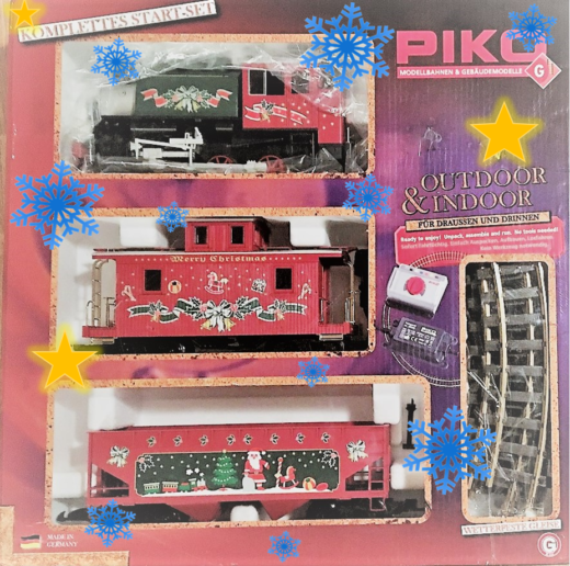PIKO Christmas set 37105 box